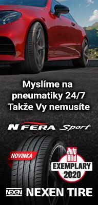 Letní pneumatiky Nexen za nízkou cenu